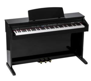 Orla CDP-101 Magasfényű Fekete Digitális Pianínó