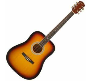 Pasadena SG028 Vintage Sunburst akusztikus gitár