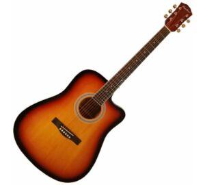 Pasadena SG028C Vintage Sunburst akusztikus gitár