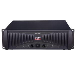 Phonic XP2000 Végerősítő, 2x660W/4Ohm