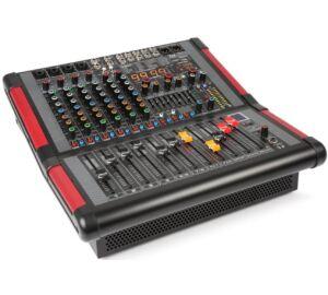 Power Dynamics PDM-S804A – 2x700w, 8 csatornás zenekari keverőerősítő, Bluetooth + Effekt + REC felvétel