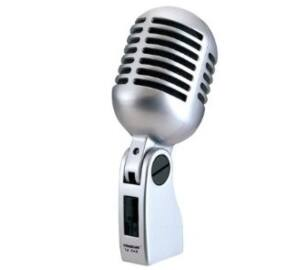 Soundsation 50'S Vintage stílusu dinamikus mikrofon