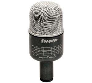 Superlux PRO-218A dinamikus lábdob mikrofon