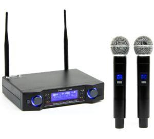 Thunder Audio LX-82 2ND UHF vezeték nélküli mikrofon szett (2 db KÉZI mikrofon)