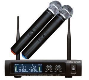Voice-Kraft LS-970 UHF kézi mikrofon szett, 2 mikrofonnal