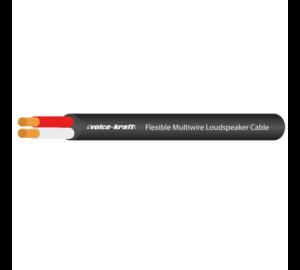 Voice-Kraft VKHC-610 Hangfalkábel, 2x1,5mm² (fekete)