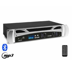 Vonyx VPA600 2x300W, Bluetooth + REC felvétel végerősítő