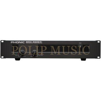 Phonic MAX2500 2x750W/4Ohm végerősítő