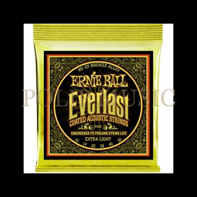 Ernie Ball 2560 Extra Light 010-050 akusztikus húr
