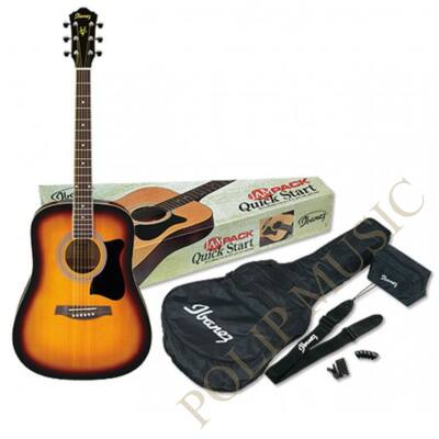 Ibanez V-50 NJP VS akusztikus gitárPack