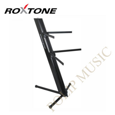 Roxtone KS-1000-BK Billentyűs állvány, 2 szintes