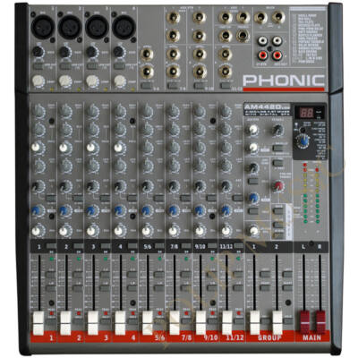 Phonic AM442D USB keverő