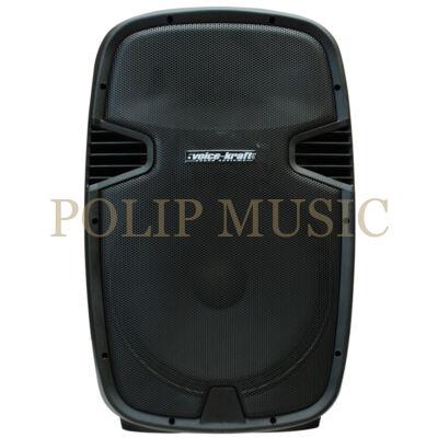 "Voice-kraft LK1679-2-15B Aktív műa.15"", 200/400W, FM , MP3, Bluetooth"