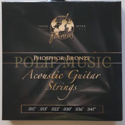 Framus 47200L Phosphor Bronz Light 011-047 akusztikus húr