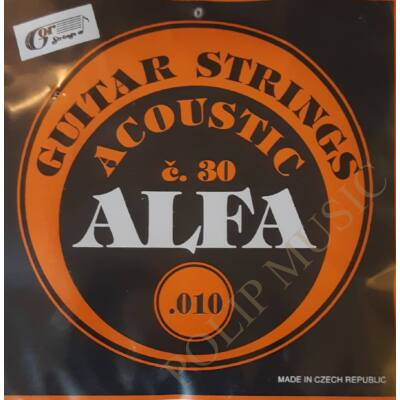 Gor Alfa C30 Normal Tension 010-038 akusztikus húr