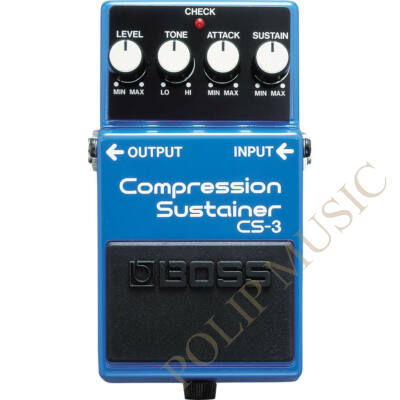 Boss CS-3 Compression Sustainer: gitár effekt