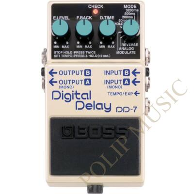 Boss DD-7 digital delay effekt pedál