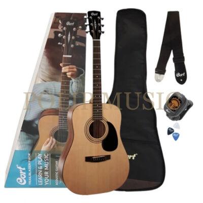 Cort-CAP810-OP akusztikus gitár szett