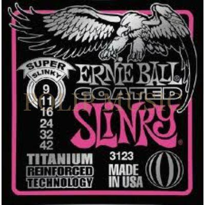 Ernie Ball 3123 Titanium RPS Super Light 009-042 elektromos gitárhúr