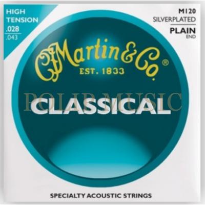 Martin M120 High Tension 028-043 klasszikus húr
