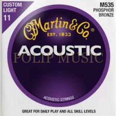 Martin M535  Phosphor Bronz Custom Light 011-052 akusztikus húr