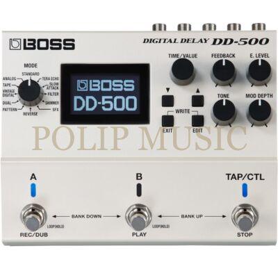 Boss DD-500 digitál delay effekt pedál