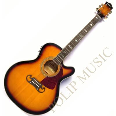 Uniwell CJS-080 CEQ SB elektroakusztikus gitár
