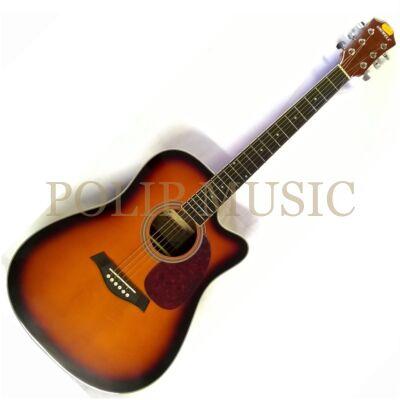 Uniwell CD-08 SB akusztikus gitár