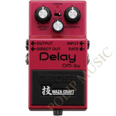 Boss DM-2W delay effekt pedál