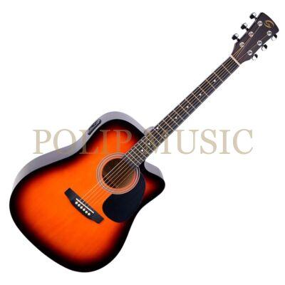 Soundsation Yellowstone DNCE SB elektroakusztikus gitár