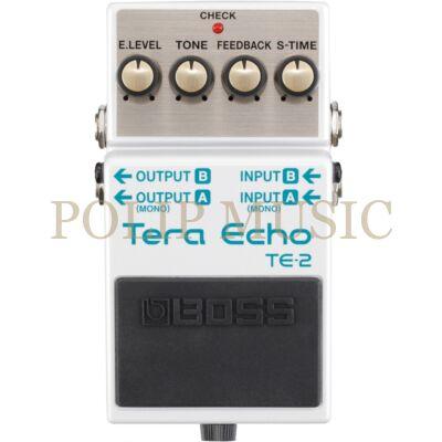 Boss TE-2 Tera Echo effekt pedál