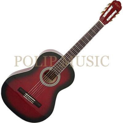 Aiersi SC01SL Red 4/4 klasszikus gitár