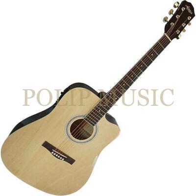 Aiersi SG028CE Natural elektroakusztikus gitár