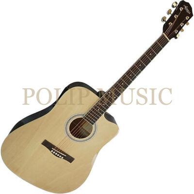Aiersi SG028C Natural akusztikus gitár