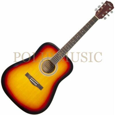 Aiersi SG028 Vintage Sunburst akusztikus gitár