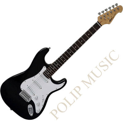 Aiersi ST-11 Black elektromos gitár