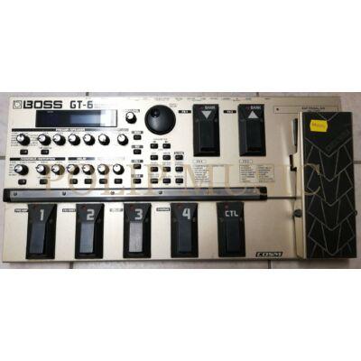 Boos GT-6 gitáreffekt processor