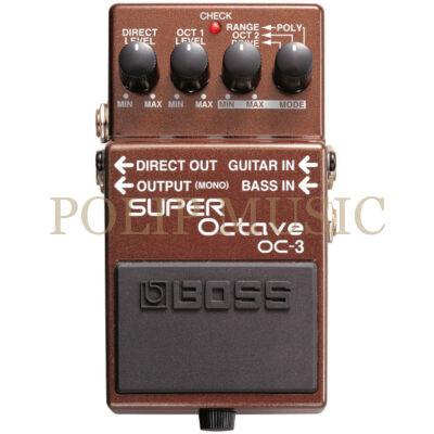 Boss OC-3 Super Octave gitár effekt