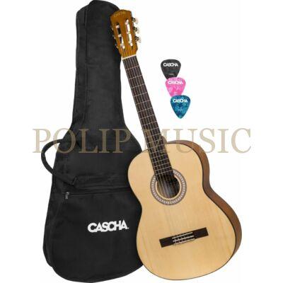 Cascha HH 2137 Student Series 4/4 klasszikus gitár szett