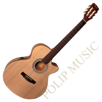Cort CEC1-OP Velencei cutaway elektro-klasszikus gitár