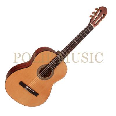 Cort AC100DX-OP Deluxe matt natúr 4/4 klasszikus gitár