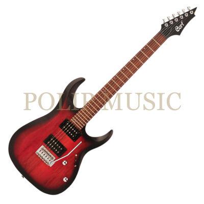 Cort X100-OPBB Cseresznye burst elektromos gitár