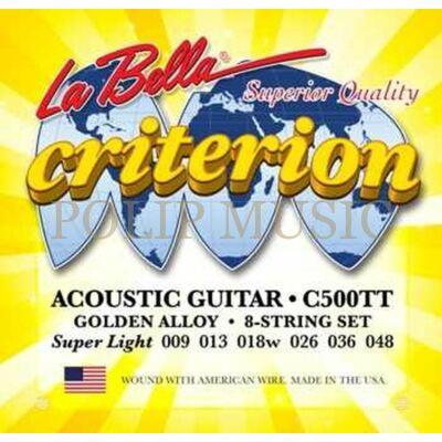La Bella Criterion C500TT 009-048  Akusztikus gitárhúr