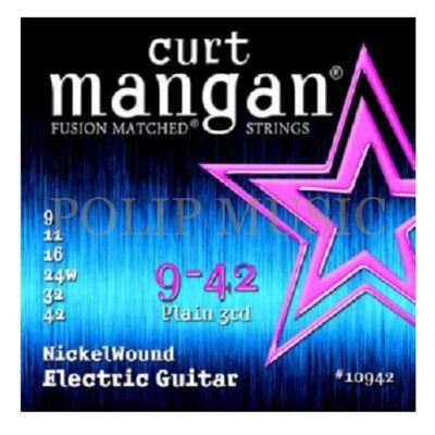 Curt Mangan 10942 009-042 elektromos gitárhúr