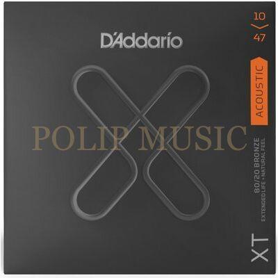 D'addario XT 10-47 Bronze akusztikus húr
