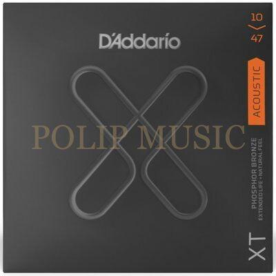 D'addario XT Phosphore Bronze 10-47 akusztikus húr