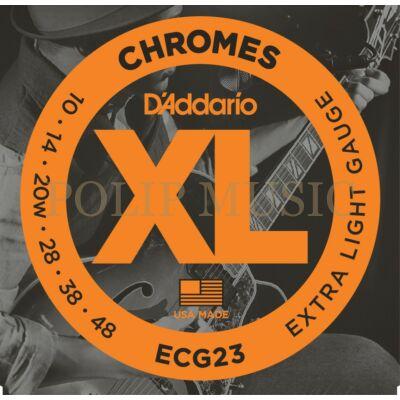 D'Addario ECG23 Extra Light 010-048 elektromos gitárhúr