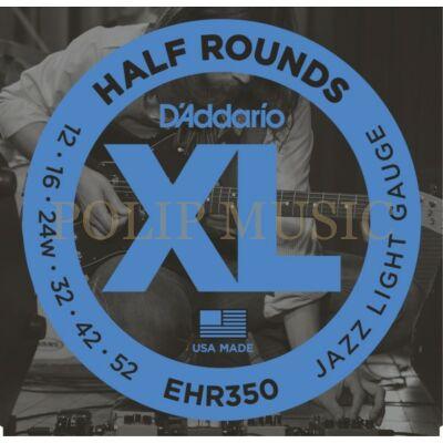 D'addario EHR350 Jazz Light 012-052 elektromos gitárhúr