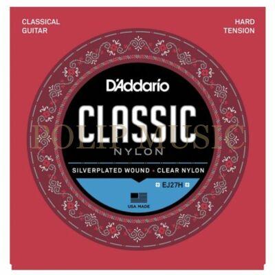 D'addario EJ27H Hard Tension 0285-044 klasszikus húr