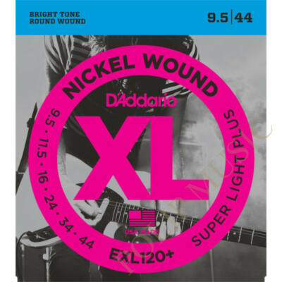 D'Addario EXL120 Plus Super Light 095-044 elektromos gitárhúr